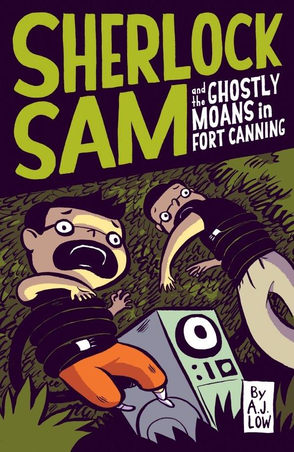 Sherlock Sam and the Ghostly Moans in Fort Canning: Book #2