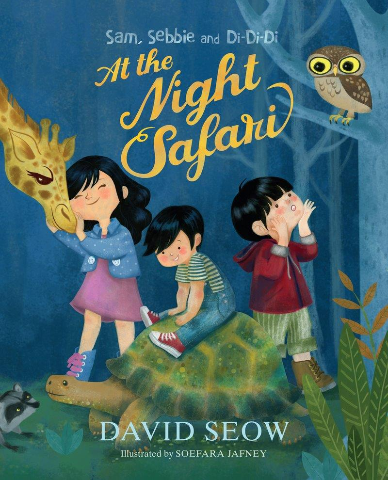 Sam, Sebbie and Di-Di-Di (book 1): At the Night Safari