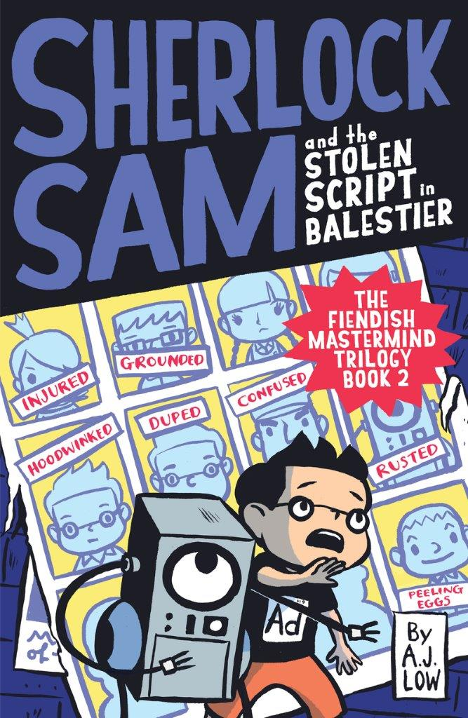 Sherlock Sam and the Stolen Script in Balestier: Book 7