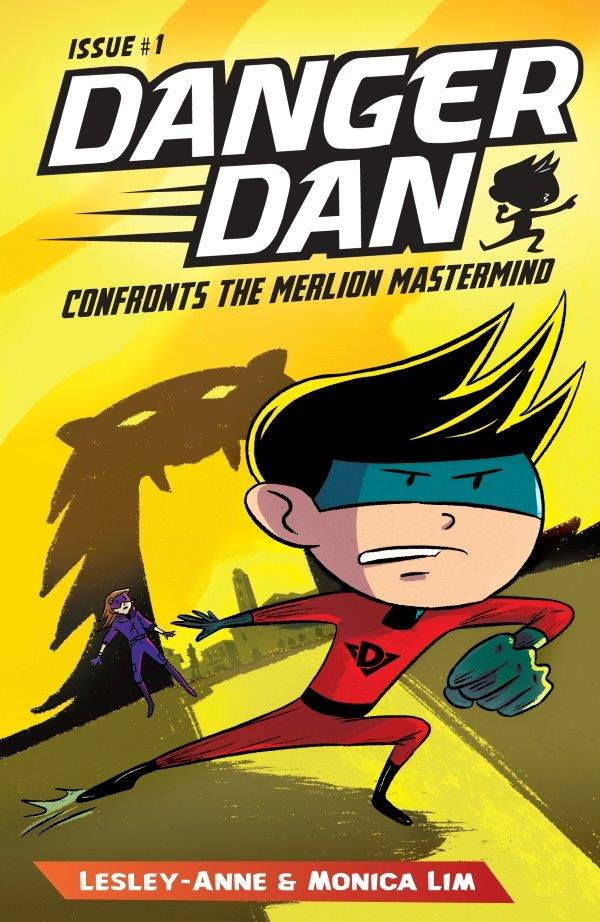 Danger Dan Confronts the Merlion Mastermind