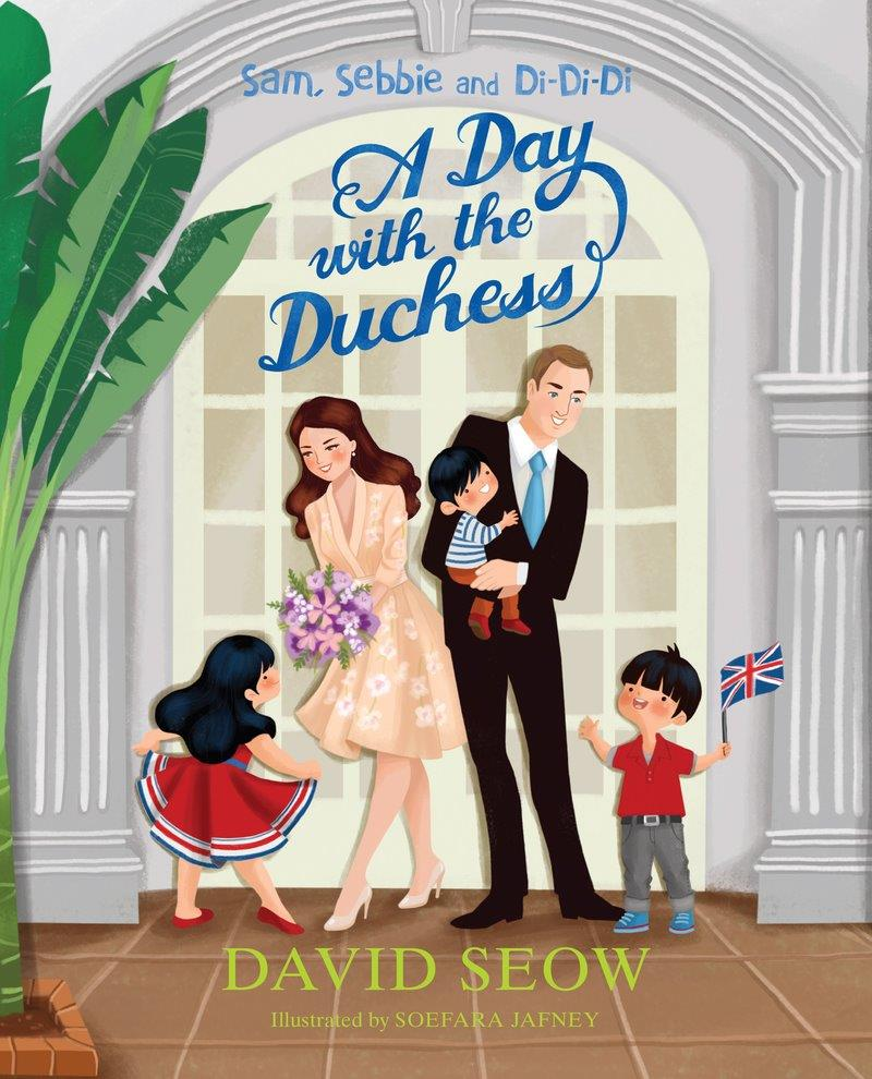 Sam, Sebbie and Di-Di-Di (book 4): A Day with the Duchess