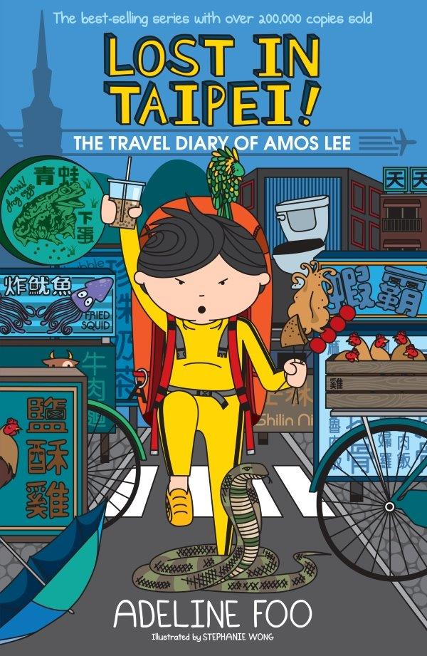 The Travel Diary of Amos Lee (book 1): Lost in Taipei!