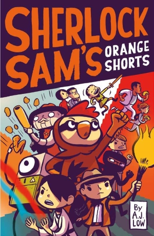 Sherlock Sam's Orange Shorts