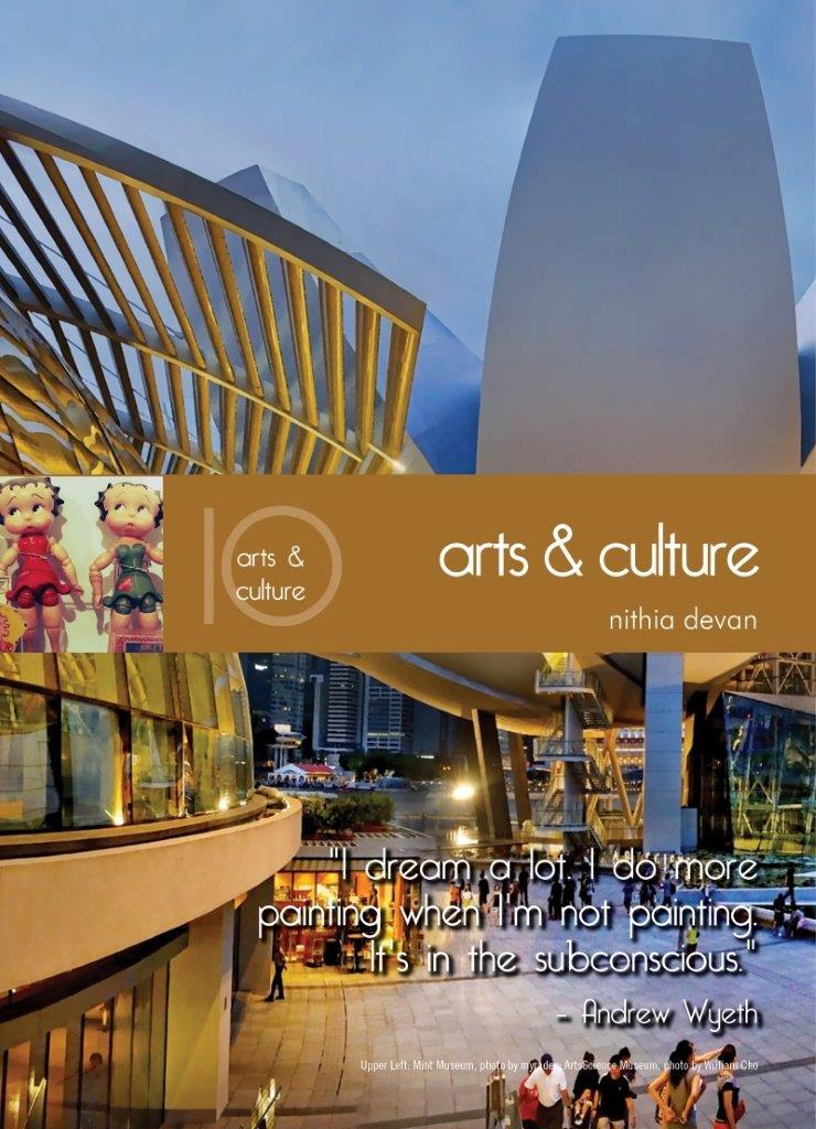 Living In Singapore - Arts & Culture