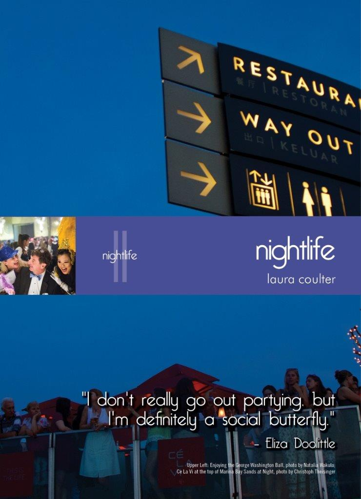 Living In Singapore - Nightlife: Fourteenth Edition Reference Guide (2016)