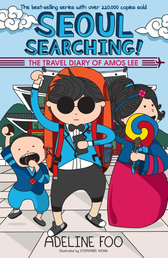 The Travel Diary of Amos Lee (book 3): Seoul Searching!