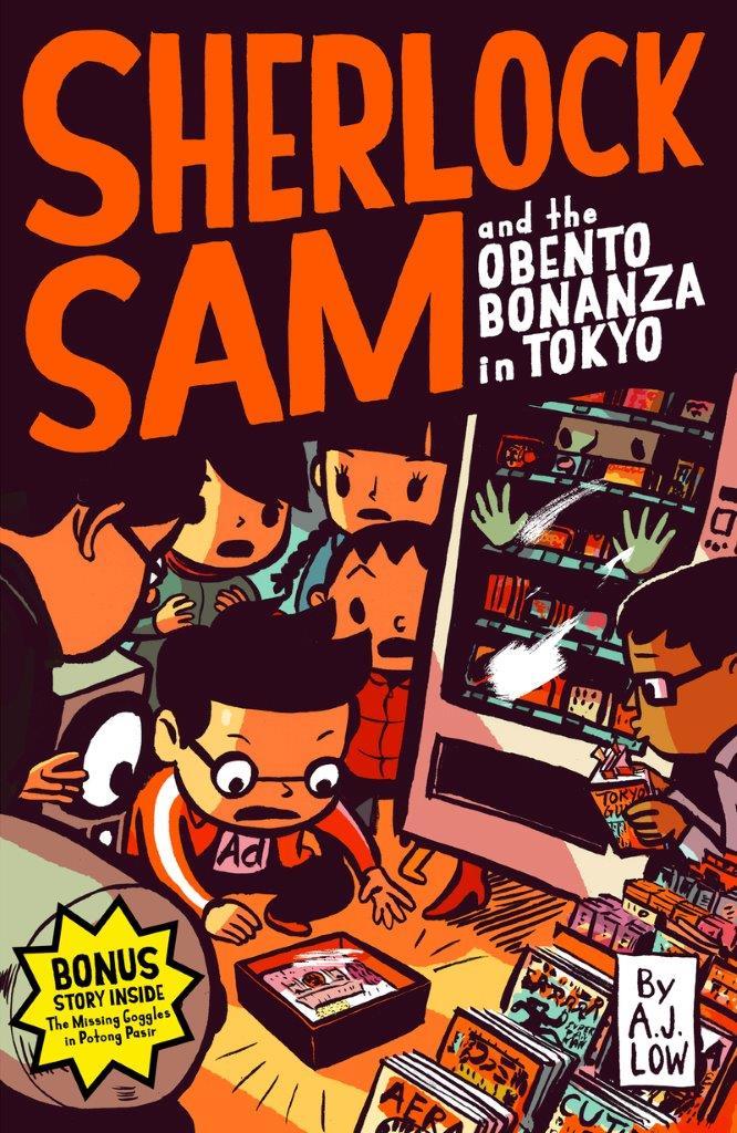 Sherlock Sam and the Obento Bonanza in Tokyo: Book 9