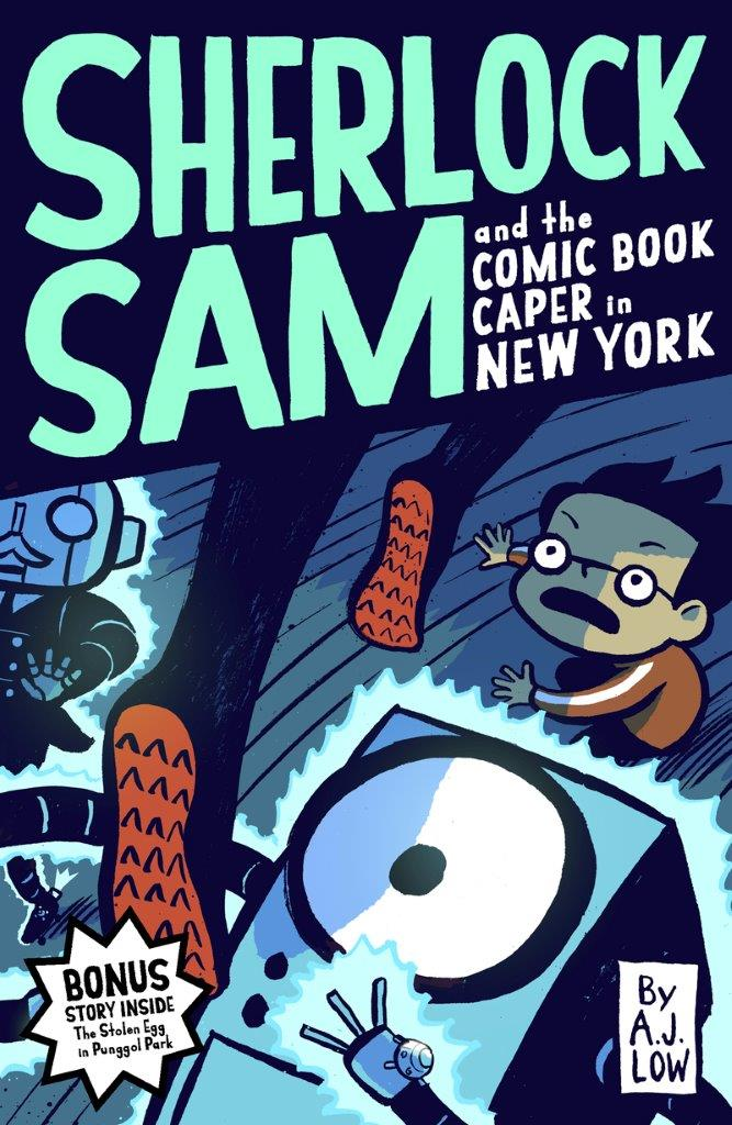Sherlock Sam and The Comic Book Caper in New York: Book #10