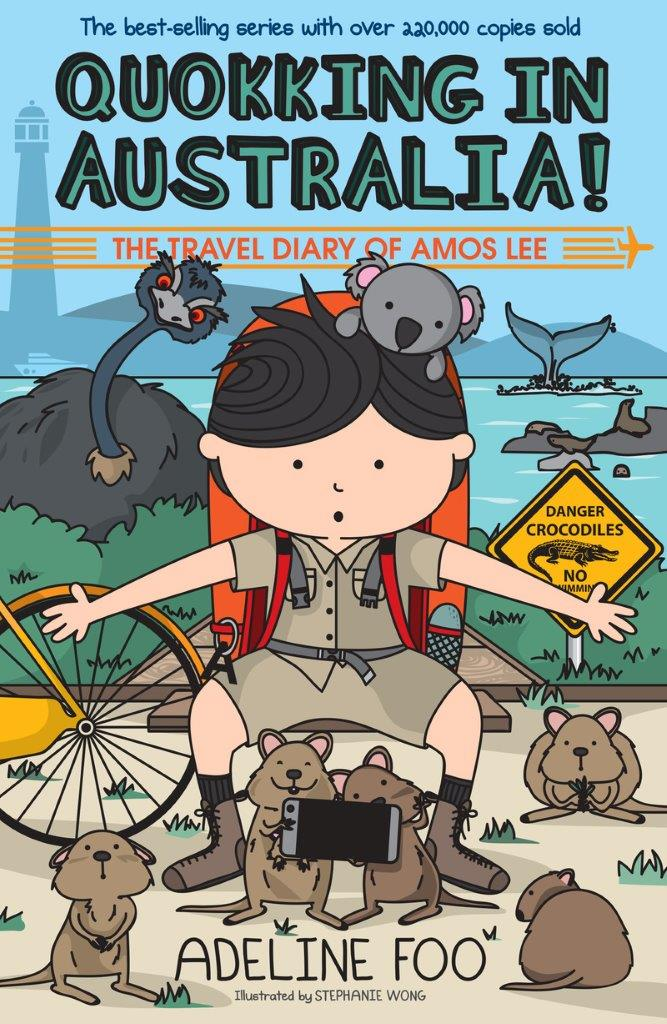 The Travel Diary of Amos Lee (book 4): Quokking in Australia!