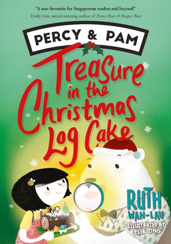 Percy & Pam (book 3): Treasure in the Christmas Log Cake